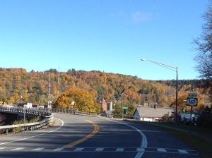 View from Rte 167