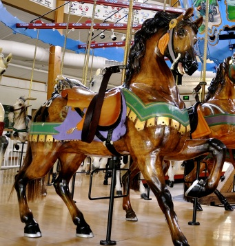 Detail From Spencer Park Dentzel Carousel - Kevin Burkett http://www.flickr.com/people/kevinwburkett